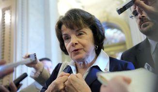 Sen. Dianne Feinstein, California Democrat (Associated Press)