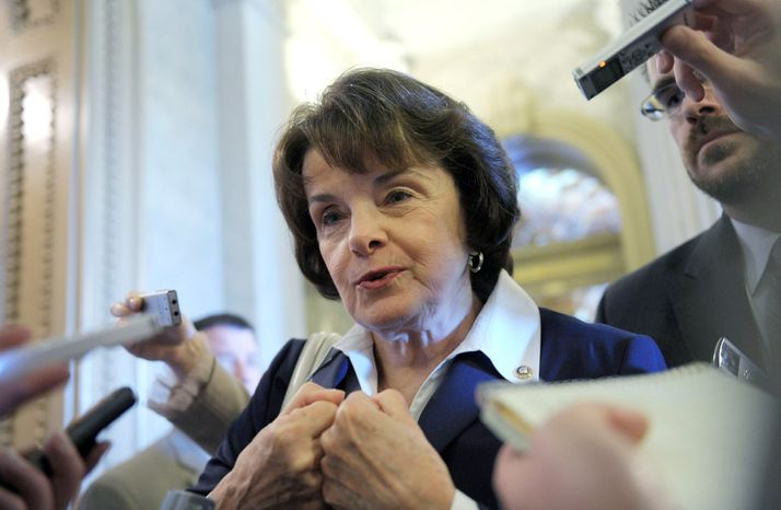 Sen. Dianne Feinstein, California Democrat (Associated Press)
