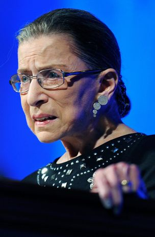 Supreme Court Justice Ruth Bader Ginsburg (Associated Press)