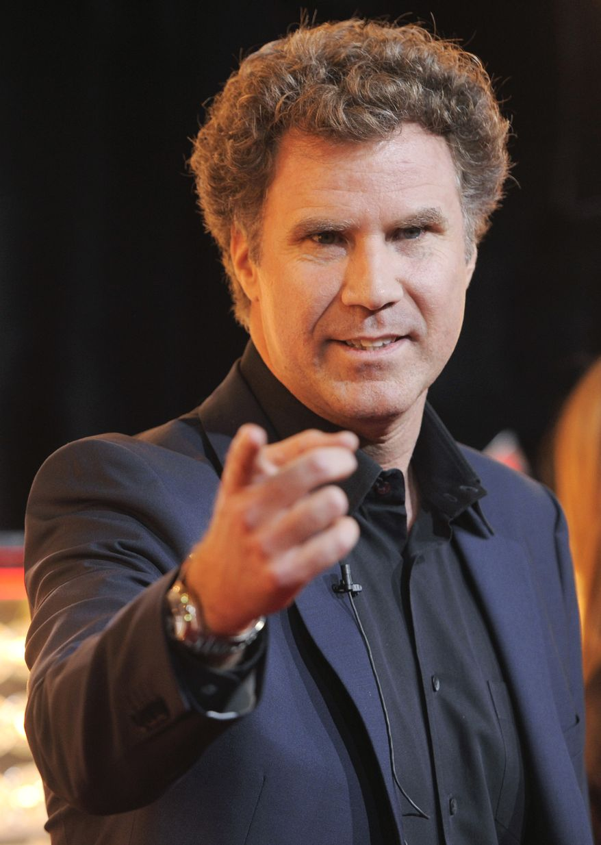 Actor-comedian Will Ferrell will receive the Mark Twain Prize for American Humor at a Kennedy Center ceremony Oct. 23. (AP Photo/Chris Pizzello)