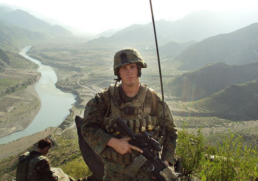 Marine Sgt. Dakota Meyer, shown in an undated photo, was deployed in support of Operation Enduring Freedom in Ganjgal Village in Afghanistan's Kunar province. The 23-year-old former Marine scout sniper from Columbia, Ky., who has since left the corps, will become the first living Marine to be awarded the Medal of Honor in decades. (AP Photo/U.S. Marine Corps)