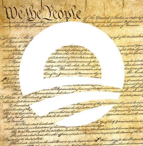 Illustration: Obama's Constitution