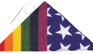Illustration: LGBT flag