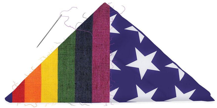 Illustration: LGBT flag