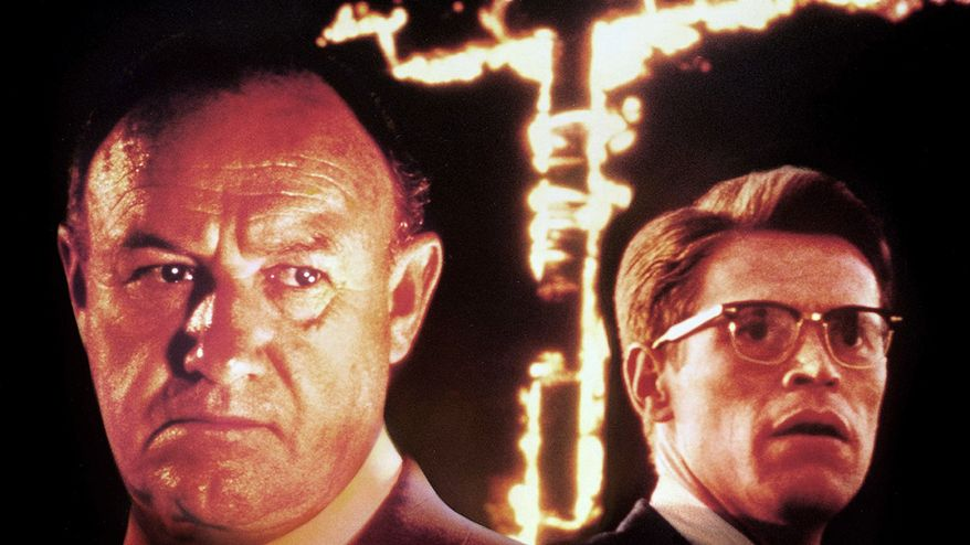 "Mississippi stereotypes persist in ""Mississippi Burning"", starring Gene Hackman (left) and Willem Dafoe. (Photograph provided by Metro-Goldwyn-Mayer Studios Inc.)"