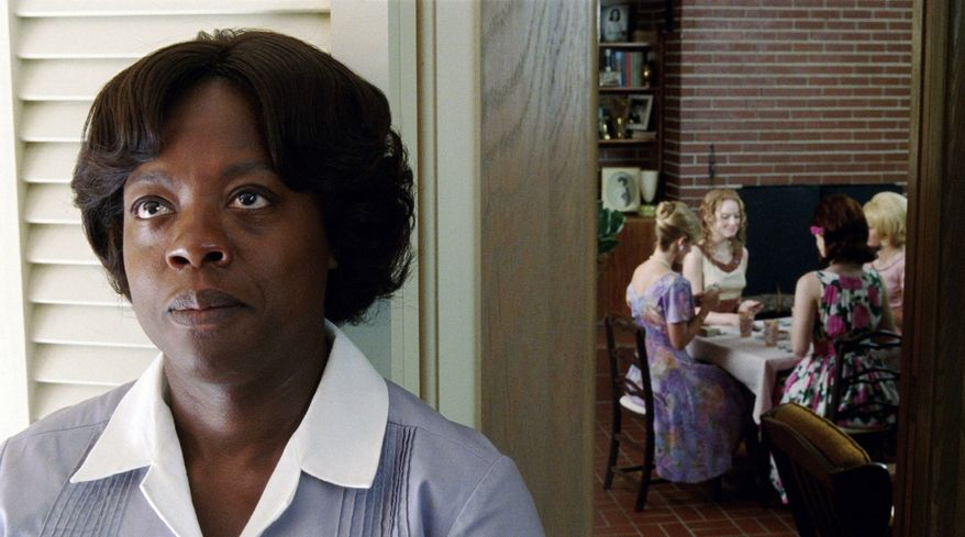 "Current hit ""The Help,"" starring Viola Davis, gives a more balanced view of the state, with sympathetic characters both black and white. (Disney via Associated Press)"
