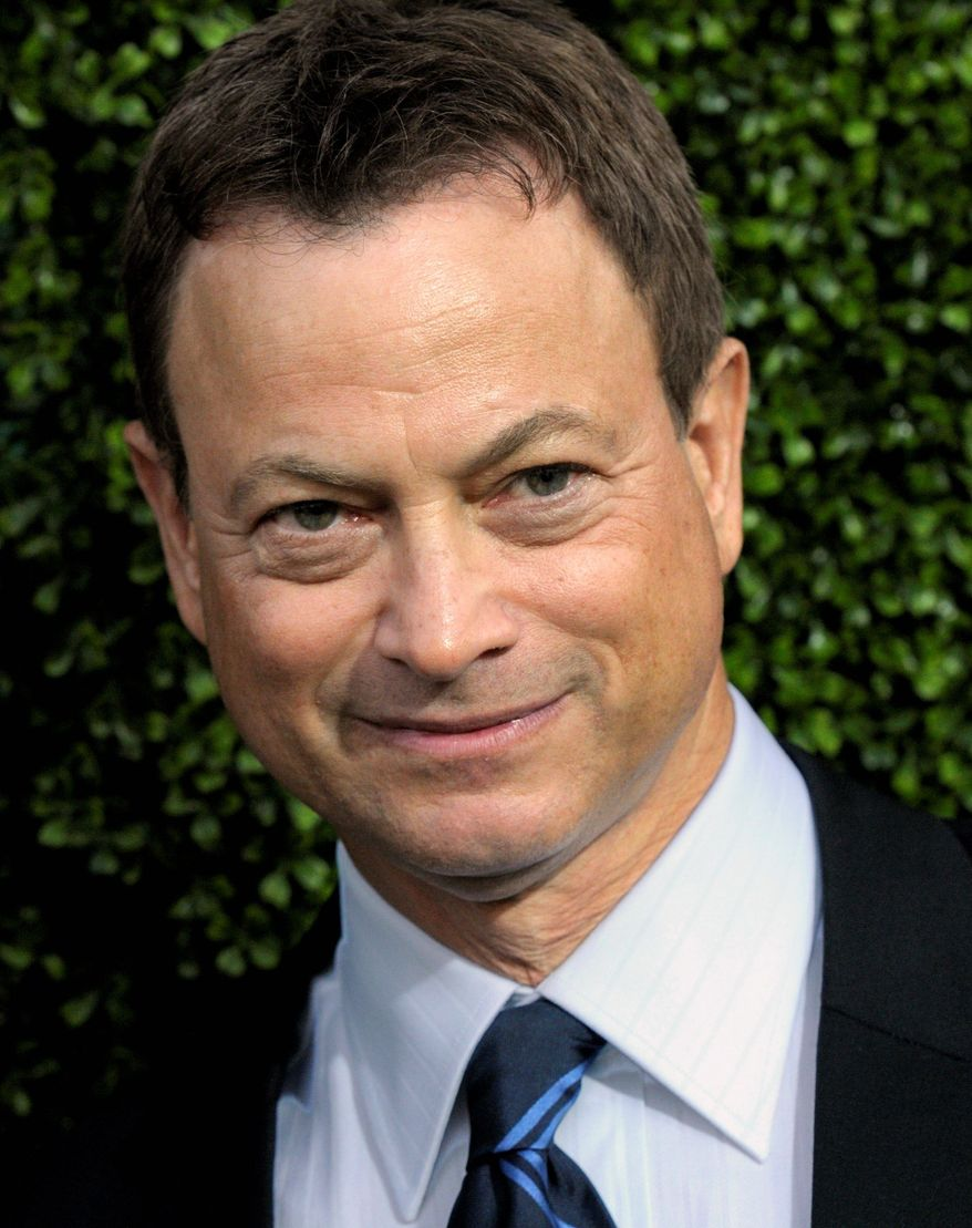 "Since actor Gary Sinise portrayed a wounded Vietnam veteran in the movie ""Forrest Gump,"" he has been devoting time and treasure to helping the nation's warriors. (Associated Press)"