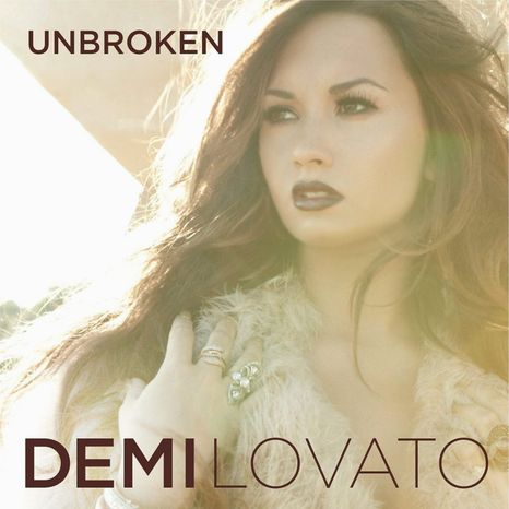 "Album cover for Demi Lovato's ""Unbroken""."
