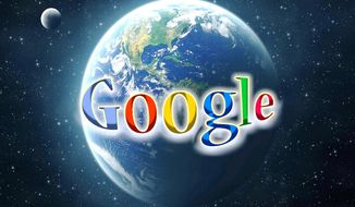 Illustration: Google by John Camejo for The Washington Times