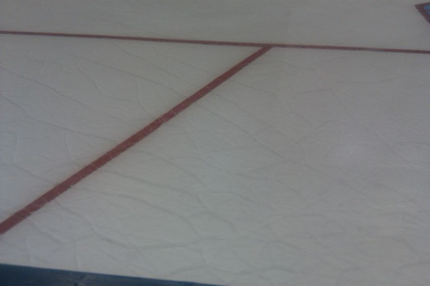A look at the ice at 1st Mariner Arena three hours before the Baltimore Hockey Classic. / Stephen Whyno