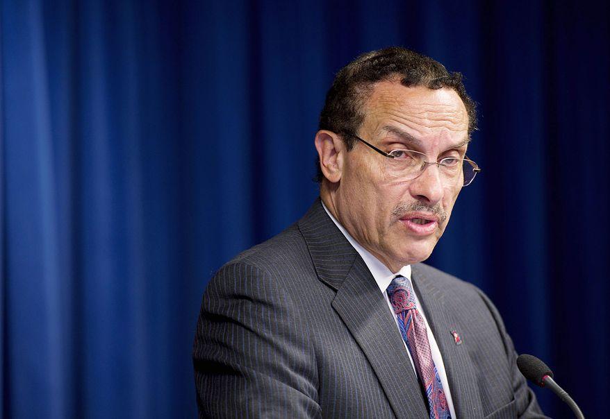 D.C. Mayor Vincent C. Gray (Barbara L. Salisbury/The Washington Times)