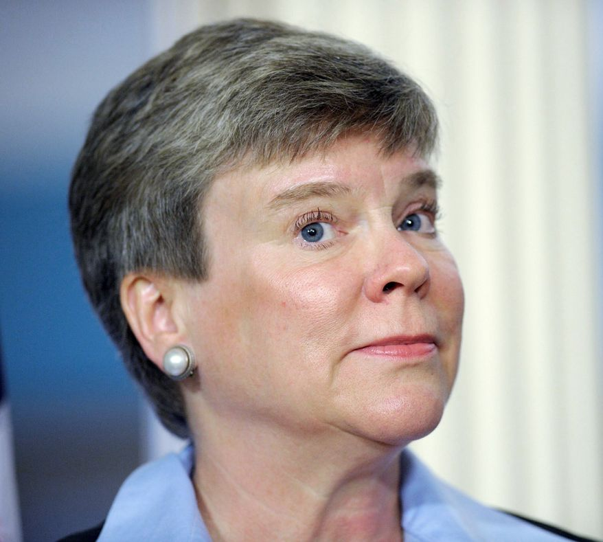 """Rose Gottemoeller, assistant secretary of state for verification, has said that """"we are committed to continuing a step-by-step process to reduce the overall number of nuclear weapons."""" (Associated Press)"""