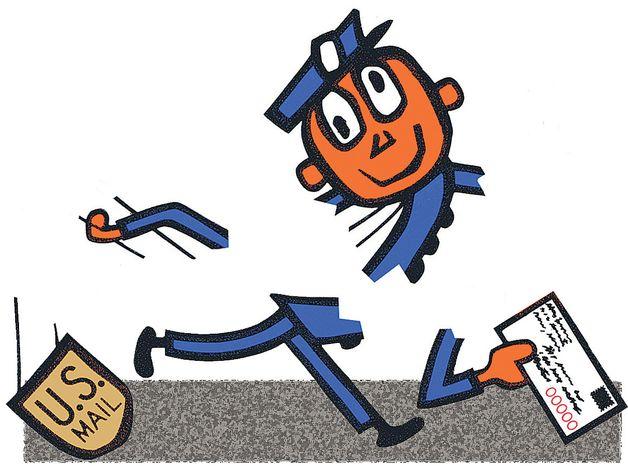 Illustration: Broken Post Office