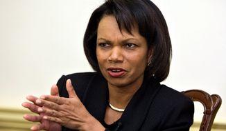 **FILE** Condoleezza Rice (Associated Press)