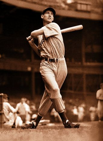 Red Sox slugger Ted Williams clinched baseball's last .400 season by going 6-for-8 in a doubleheader on the last day in 1941 to finish at .406. Sixteen years later, he batted .388. (Associated Press)