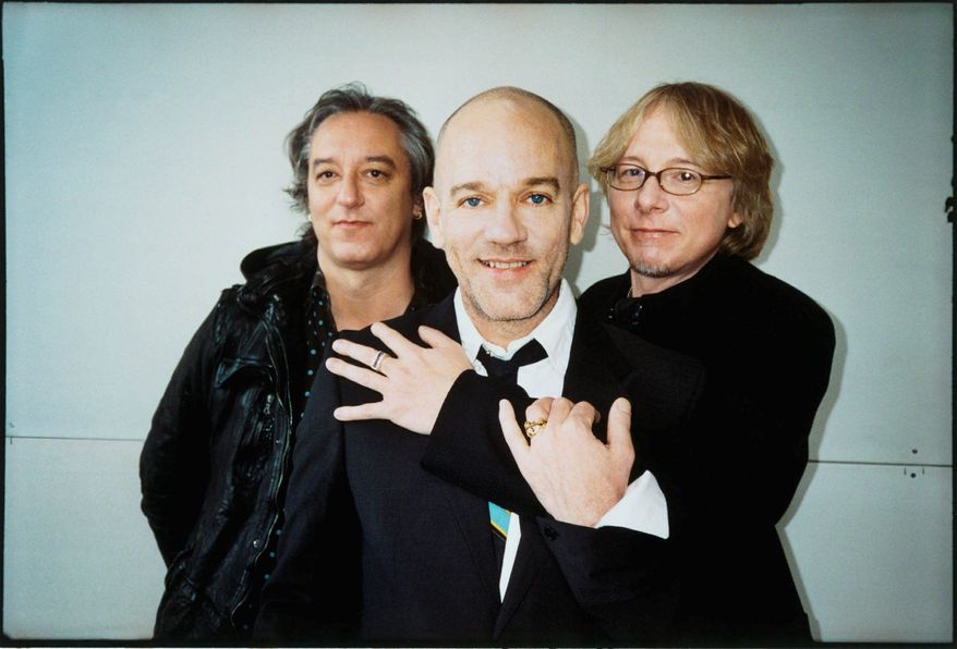 "R.E.M. R.E.M. called it quits last week, widening the gap between bands that helped push alternative rock into the mainstream in the '80s. ""All things must end,"" Michael Stipe (center) wrote in the band's resignation letter last week."