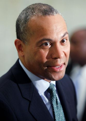 ** FILE ** Massachusetts Gov. Deval Patrick (Associated Press)