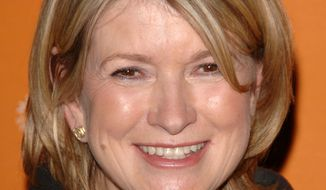 **FILE** Martha Stewart (Associated Press)