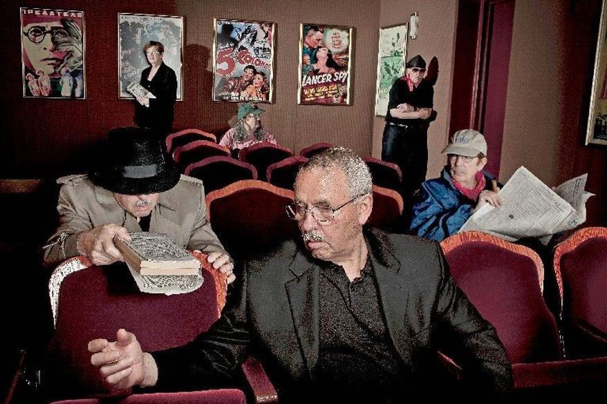 All the characters in this photo illustration are just two people: Jonna and Tony Mendez, who were photographed at an International Spy Museum exhibit. After decades working as disguise specialists for the CIA, the Mendezes are masters at their craft. At the request of the agency, they are spending their retirement revealing some of their tricks. (Photo illustration by T.J. Kirkpatrick/The Washington Times)