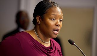 ** FILE ** D.C. Public Schools Chancellor Kaya Henderson (Barbara L. Salisbury/The Washington Times)