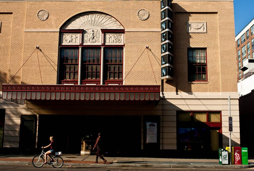 The Lincoln Theatre has been a U Street landmark for decades. Its board members are seeking help from the city to keep the venue financially afloat. (The Washington Times)