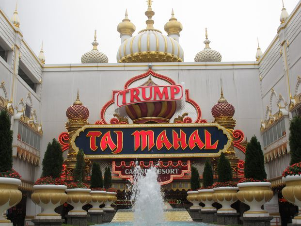 The Trump Taj Mahal Casino Resort in Atlantic City, N.J., shown here on Sept. 22, 2011, is giving away $25,000 worth of plastic surgery as part of a player's card loyalty promotion in October. (Associated Press)