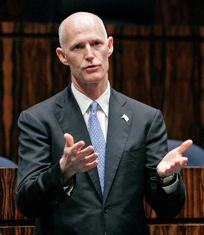 **FILE** Florida Gov. Rick Scott, Republican (Associated Press)