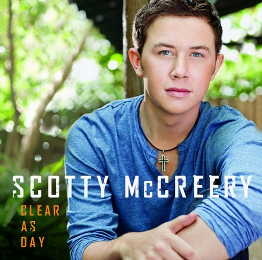 "Album cover for Scotty McCreery's new release ""Clear as Day"" that arrives in stores today."