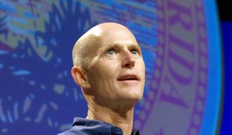 "Florida Gov. Rick Scott, a Republican, knows that voters in the counties in the Interstate 4 corridor are important in presidential and statewide races. ""I think its about 52 percent of the vote,"" he said. ""You need to win it."" (Associated Press)"