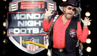 "ESPN pulled the plug on Hank Williams Jr.'s opening for ""Monday Night Football"" because of comments he made on ""Fox & Friends."" (Associated Press)"