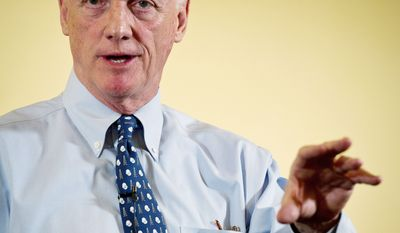 American Bankers Association President and CEO Frank Keating (Rod Lamkey Jr./The Washington Times)