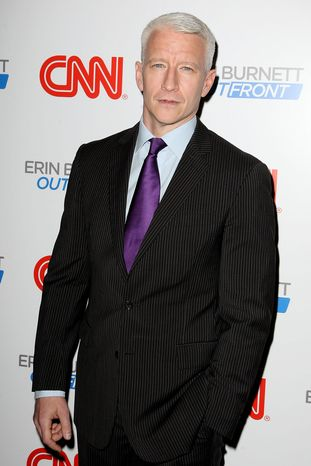 Anderson Cooper of CNN focused on a section of the website Reddit dedicated to sexualized pictures of underage girls. (Associated Press)
