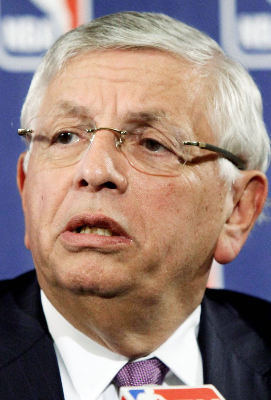 NBA Commissioner David Stern has cancelled the entire slate of preseason games, and will have to cancel the first two weeks of the regular season if the two sides do not reach a deal by Monday. (Associated Press)
