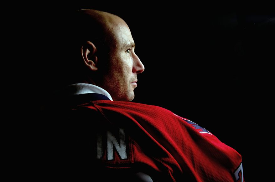 Washington Capitals goaltender Tomas Vokoun (Andrew Harnik/The Washington Times)