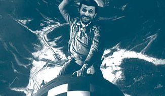 "Illustration by John Camejo from the film ""Dr. Strangelove"""