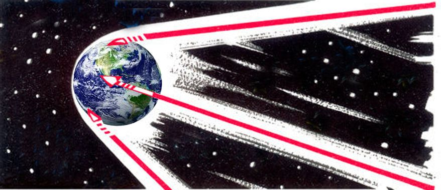Illustration: Defense innovation by John Camejo for The Washington Times