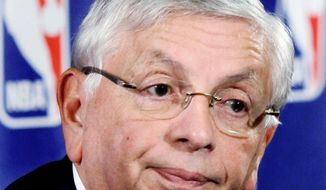 DEADLINE: NBA commissioner David Stern has said that the first two weeks of the season will be canceled if a deal to end the lockout is not reached by Monday. (Associated Press)