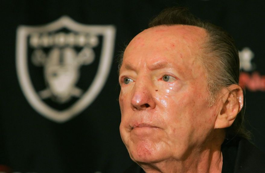 Al Davis won three Super Bowls as owner of the Raiders - one when the franchise was based in Los Angeles. (Associated Press)