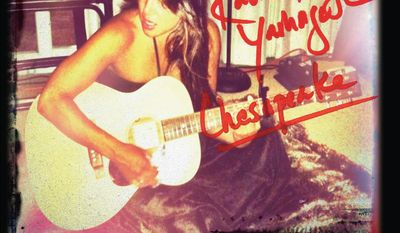 """Rachael Yamagata's third album """"Chesapeake"""" was funded by her fans."""