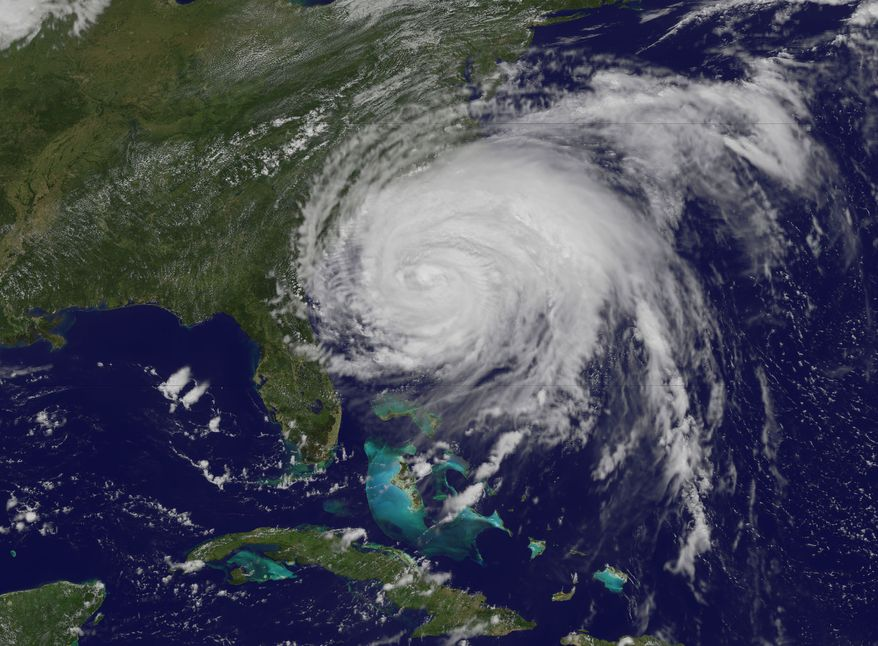 Hurricane Irene, as seen from space. (Photo courtesy NASA)
