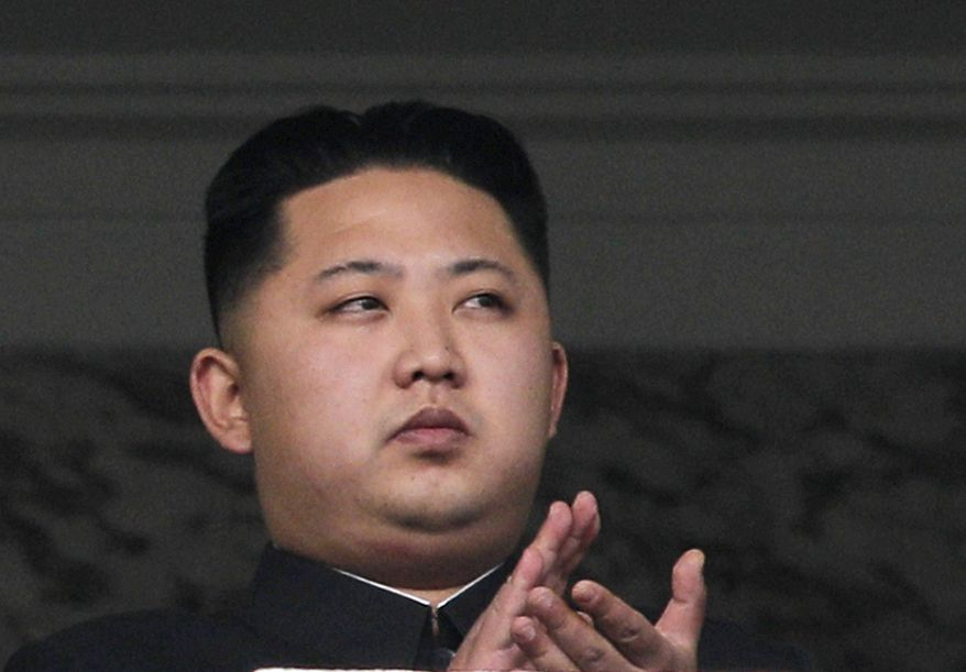 ** FILE ** Kim Jong-un, the son of North Korean leader Kim Jong-il, attends a military parade marking the 65th anniversary of the ruling Workers' Party in Pyongyang, North Korea, on Oct. 10, 2010. (AP Photo/Vincent Yu, File)