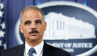 **FILE** Attorney General Eric H. Holder Jr. (Associated Press)