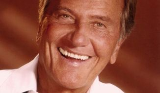 Pat Boone will be honored Wednesday by members of Congress and the 60 Plus Association, a seniors group that espouses fiscal sensibility and small government. (60 Plus Association)