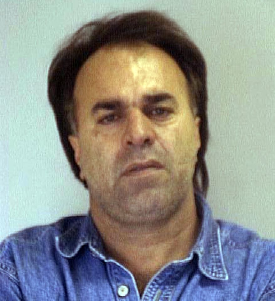 This undated image provided by the Nueces County, Texas, Sheriff's Office shows Manssor Arbabsiar. (AP Photo/Nueces County Sheriff's Office)