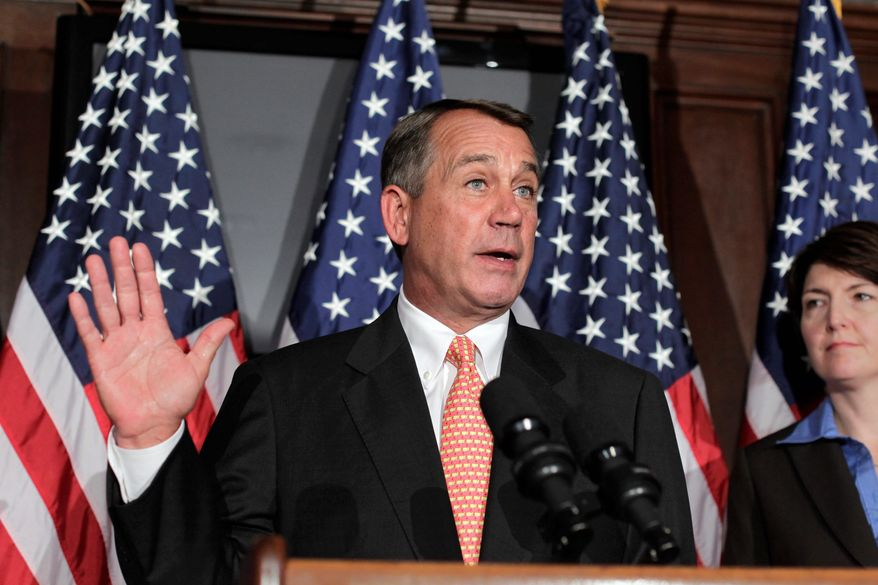 """""""Listen, we've done four or five solid, jobs-creation bills this week and this bill was part of our Pledge to America,"""" said House Speaker John A. Boehner of the measure to bar federally-subsidized insurance plans from covering abortions. """"We're keeping our word to the American people."""" (Associated Press)"""