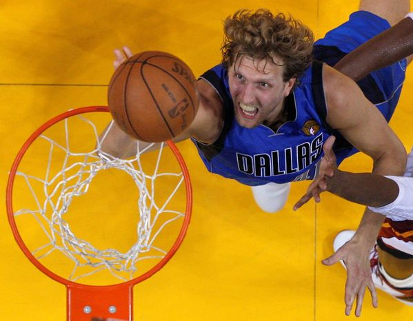 Dirk Nowitzki was named the MVP of the NBA Finals in June as his Dallas Mavericks beat the Miami Heat, but he and his teammates will have to wait to open defense of their NBA title as labor negotiations grind on. The question is, how many sports fans care if the players ever get back on the court? (Associated Press)