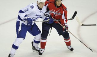 Washington Capitals center Brooks Laich is not a fan of the NHL's concussion protocol. (AP Photo/Nick Wass)