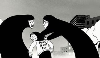 """Marjane Satrapi's adaptation of her graphic novels about growing up during Iran's 1979 Islamic Revolution has been called a """"serious attack on the religious beliefs of Muslims"""" by a Muslim imam."""