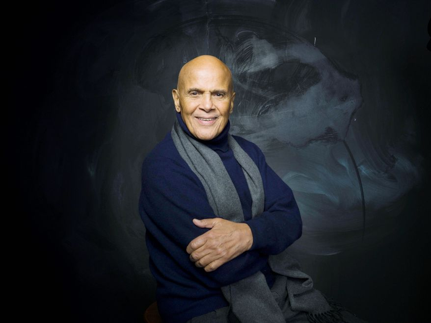 """What a blessing,"" singer Harry Belafonte says about his life, which includes a key role in the civil rights movement. HBO will air a biography titled ""Sing Your Song"" about the ""activist who turned artist"" starting Monday at 10 p.m. (Associated Press)"