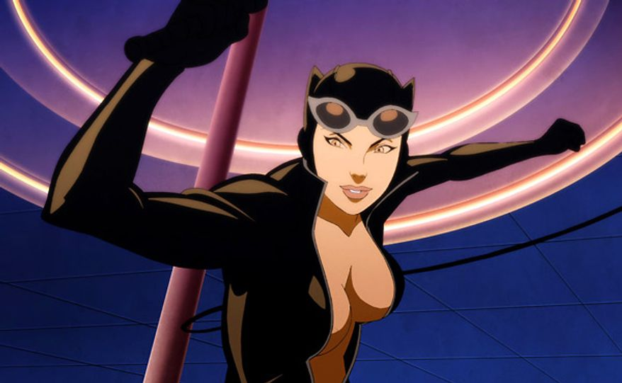 Catwoman stars in her own animated short in the Blu-ray release of Batman: Year One.